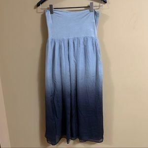 Giusy flowy silk skirt, made in Italy